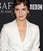 emma watson, bafta tea party, golden globes, 2018