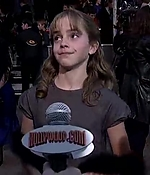 emma watson, screen capture, interview, 2001, harry potter