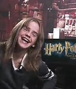 emma watson, screen capture, interview, 2002, harry potter