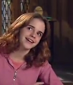 emma watson, screen capture, interview, 2003, harry potter
