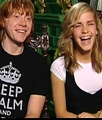 emma watson, screen capture, interview, 2007, harry potter
