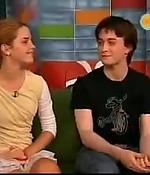 emma watson, screen capture, interview, 2003, harry potter